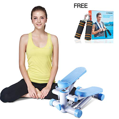 HARISON Mini Stepper Desk Elliptical Massage Stepper Exercise Stair Stepper Machine Fitness Stepper Gift