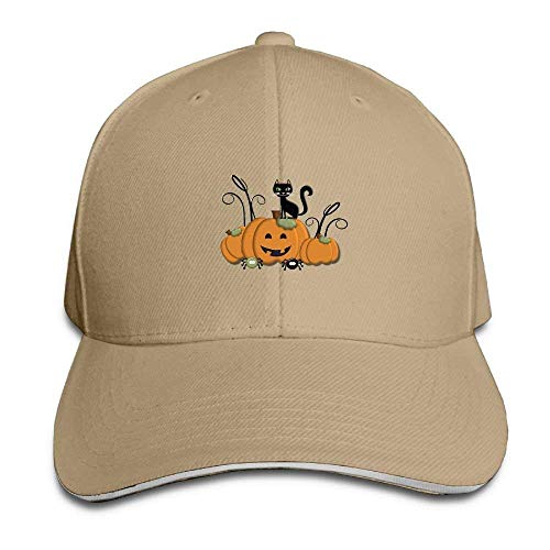 Pumpkin Kitten Cap Unisex Low Profile Baseball Hat 8J929 -