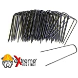 eXtreme Dog Fence - Second Generation In-Ground Electric Dog Fence Easy Installation D.I.Y. Kit - Feature Rich Transmitter - Unlimited Dogs - Extended Area Coverage - Waterproof Collars