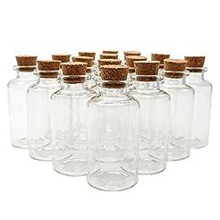 Axe Sickle 20ml Cork Stoppers Glass Bott...