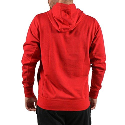 Rouge Sweat Homme shirt Capuche Nike wx7A1qnI