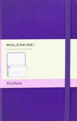Moleskine Classic Portfolio, Pocket, Brilliant Violet, Hard Cover