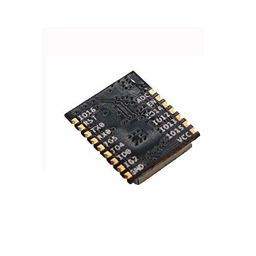 Sunhokey 2pcs ESP-M1 ESP8285 ESP8266 1M Flash Chip Wifi Wireless Module Serial Port Ultra Transmission With External Antenna Interface FZ2735 by Sunhokey (Image #1)