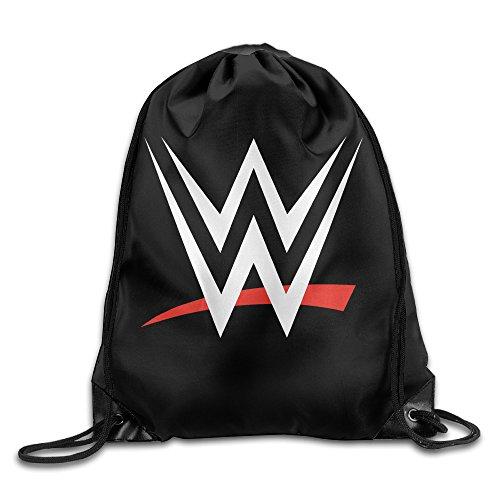 HotBB WWE Logo Drawstring Backpacks Sack Bag/Bags