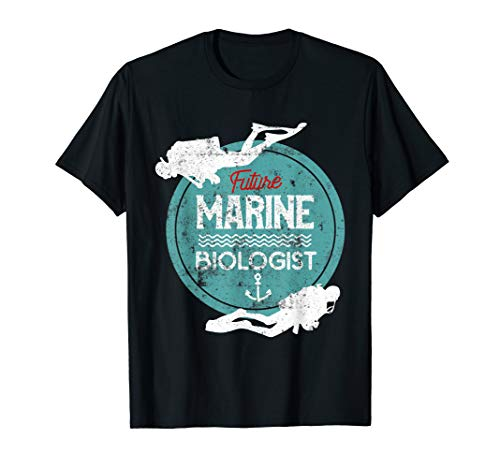 Marine Costume For Girls (Marines Kids Shirt Marine Biology Future Marine)