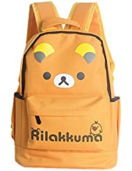Rilakkuma Childrens School Bag Lovely Cartoon Bag