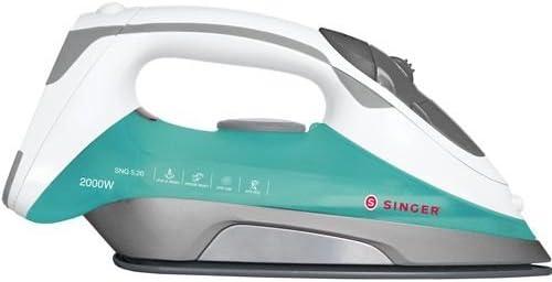 Singer SNG 5.20 - Plancha de vapor con base de acero inoxidable