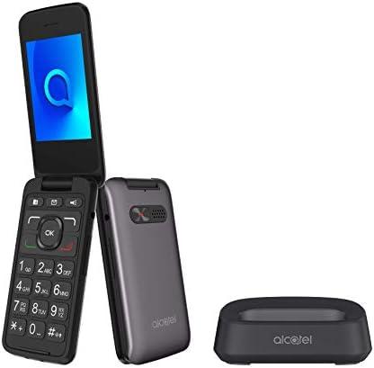 Alcatel 30.26 Telefono Cellulare da 256 MB, Metallico Grigio [Italia]