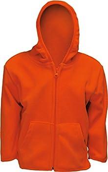 Infant Blaze Orange Full Zip Safety Hunting Sweater (3-6) 0