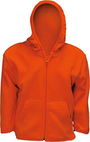 (TrailCrest Infant Blaze Orange Full Zip Safety Hunting Sweater (3-6))