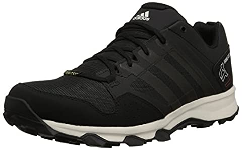 adidas Outdoor Men's Kanadia 7 Tr Gore-Tex Trail Running Shoe, Dark Grey/black/Chalk White, 10.5 M US