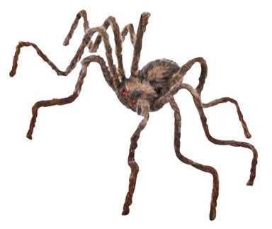 (50 Inch Posable Furry Spider (Assorted Colors))