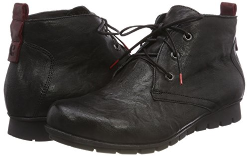 Women's 09 Menscha kombi Boots Desert 383074 Sz Think Black YHqwY