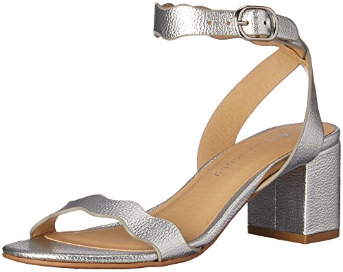CL by Chinese Laundry Women's Jessenia Heeled Sandal Silver/Metallic 8.5 M US
