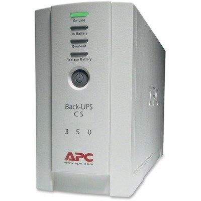 APC Back-UPS CS Battery Backup System Six-Outlet 350 Volt-Amps by APC
