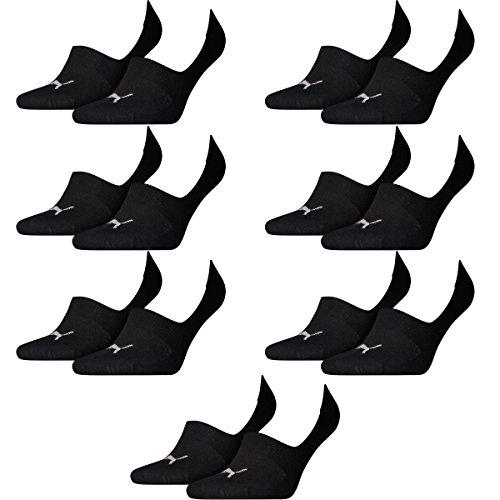 14 pair Puma Footie Invisible Socks Gr. 35 - 46 Unisex De bajo costo ... f50f8e8521a