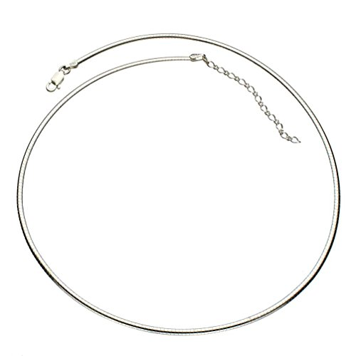 Sterling Silver Domed Necklace Extender product image
