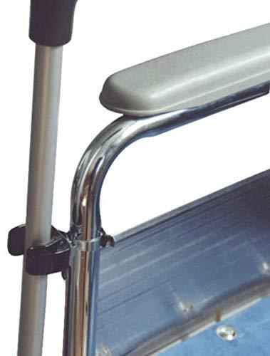 Complete Care Shop - Soporte de clip para bastón para silla de ruedas: Amazon.es: Salud y cuidado personal