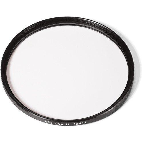 Leica E82 82mm UVa II Glass Filter, Black