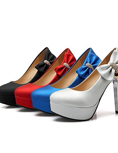 GGX/Damen Schuhe Stiletto Ferse Heels/spitz Heels Party & Abend/Kleid/Casual Schwarz/Blau/Rot black-us5 / eu35 / uk3 / cn34