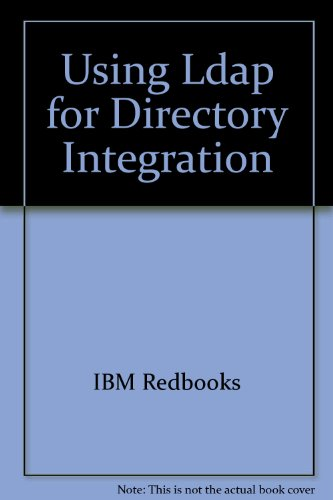 Using Ldap for Directory Integration