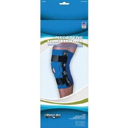 Scott Specialties Sport-Aid Knee Sleeve - SA9067 BLU SMEA - Small, 1 Each / Each