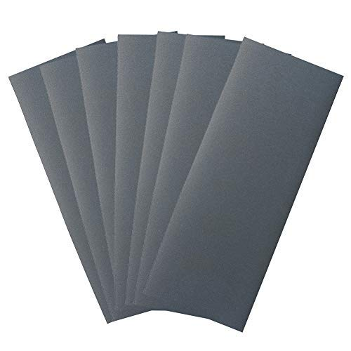 400 Grit Dry Wet Sandpaper Sheets by LotFancy, 9 x 3.6'', Silicon Carbide, Pack of 45 by LotFancy