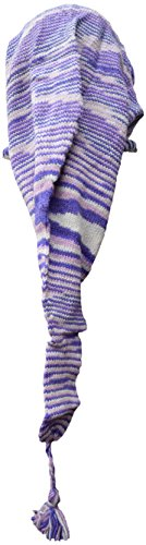 larga Purple forro de Tie de Dye campana Pixie tejer de bufanda de de con sombrero cuello Katmandú nbsp;– Poco nbsp;Braga lana polar de CzRcqxwXKa