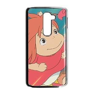 LG G2 Cell Phone Case Black Ponyo 003 YW5988077