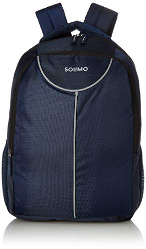 Amazon Brand – Solimo Laptop Backpack for 15.6-inch Laptops (27 litres, Blue)
