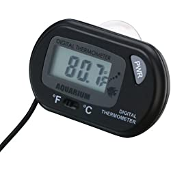 Refaxi Digital LCD Aquarium Sensor Fish Water Thermometer New