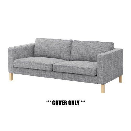Amazon.com: IKEA KARLSTAD – Slipcover sólo para sofá de 3 ...