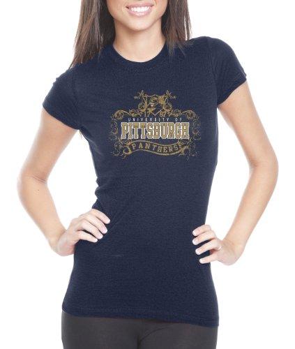 - CI Sport NCAA Pittsburgh Panthers Women's Prius2 Long Body Classic T-Shirt (Navy, XX-Large)