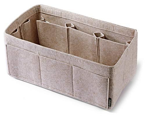 Pelikus Felt Purse & Tote Organizer Insert Handbag Shaper (X-Large, Oatmeal - xl)