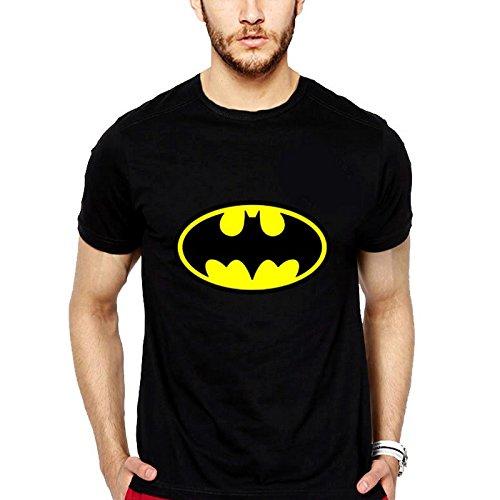 iLyk Batman T-Shirt (Black): Amazon.in: Clothing & Accessories