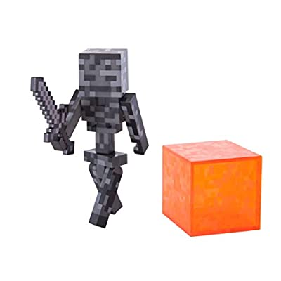 Minecraft Series 3 Action Figure (3 Inch) Wither Skeleton from Jazwares