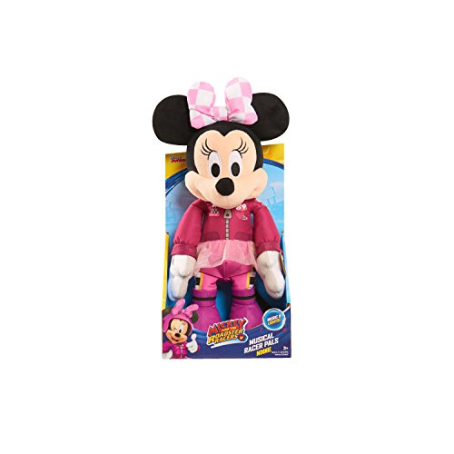 Minnie Just Play Roadster Racers Musical Racer Pals Plush by Minnie