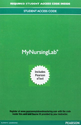 MyLab Nursing with Pearson eText -- Access Card -- for Effective Leadership and Management in Nursing