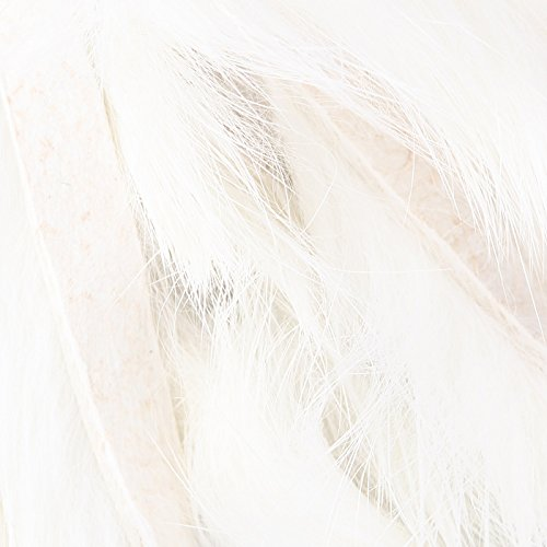 (Hareline Magnum Rabbit Strips White)