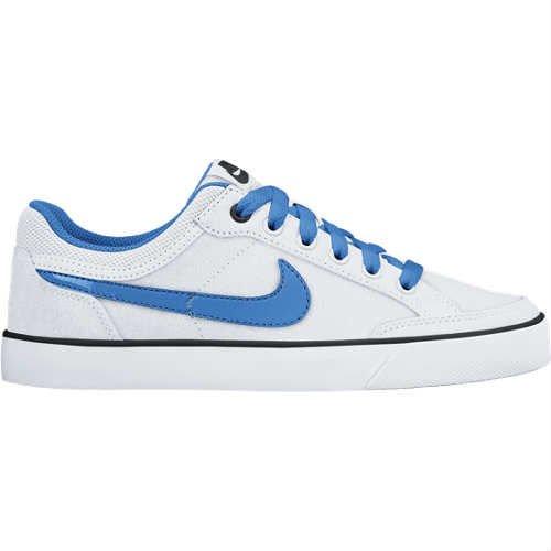huge discount 961ba 52cda Nike Capri 3 LTR (GS) - Zapatillas para niño, Color BlancoAzul Amazon.es  Zapatos y complementos