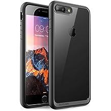 iPhone 7 Plus Case, iPhone 8 Plus Case, SUPCASE Unicorn Beetle Style Premium Hybrid Protective Clear Case for Apple iPhone 7 Plus 2016 / iPhone 8 Plus 2017 (Black)