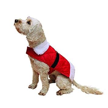 Rosewood Navidad Papá Noel abrigo para perros, large: Amazon.es: Productos para mascotas