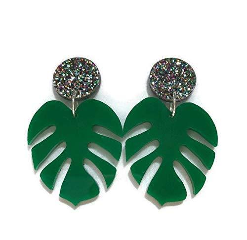 Glitter Northern Lights Surgical Steel Earrings Stud Earring | Grace Glitter Earrings Hypoallergenic Nickel Free Earrings