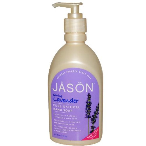 Lavender Liquid Satin Soap with Pump-500 ml Brand: Jason (Jason Natural Lavender Satin)