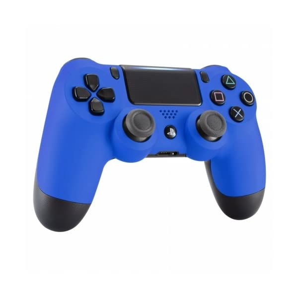 OC Gaming PS4 Dualshock Playstation 4 Wireless Controller Custom Soft Touch New Model JDM-040 (Blue) 2