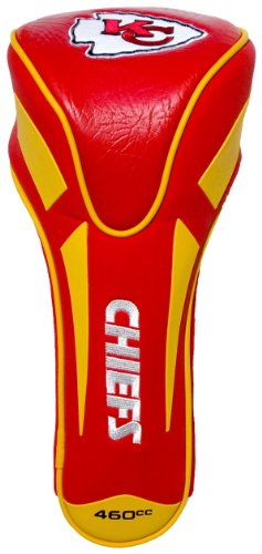 Team Golf NFL Kansas City Chiefs Golf Club Single Apex Driver Headcover, Fits All Oversized Clubs, Truly Sleek Design