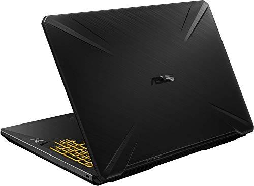 """ASUS TUF Gaming FX705DD-AU017 - Ordenador portátil de 17.3"""" (AMD Ryzen 7 3750H APU, 8 GB RAM, 512 GB SSD, NVIDIA GeForce GTX1050, sin Sistema operativo) Negro - Teclado QWERTY Español 3"""