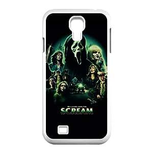 WJHSSB Cover Custom Scream Phone Case For Samsung Galaxy S4 i9500 [Pattern-4]