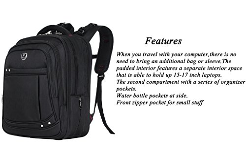 Binlion Taikes Laptop Backpack Up To 17-Inch and bolsas escolares Mochilas Tipo Casual y Bolsas y Mochilas para portátiles y netbooks Red21