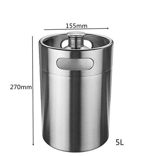 - Liquor Dispenser Bar Butler,Farway 2/4/5L Homebrew Growler Mini Keg Stainless Steel Bar Beer Wine Making Tools Valve